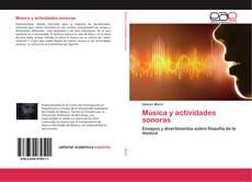Обложка Música y actividades sonoras