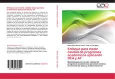 Capa do livro de Enfoque para medir calidad de programas académicos aplicando DEA y AF