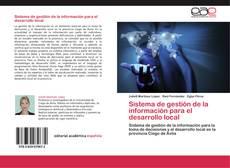 Copertina di Sistema de gestión de la información para el desarrollo local