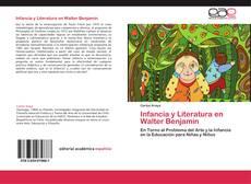 Bookcover of Infancia y Literatura en Walter Benjamin