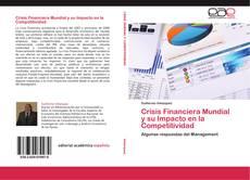 Buchcover von Crisis Financiera Mundial y su Impacto en la Competitividad