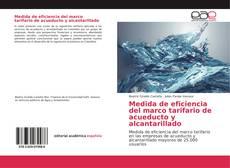 Copertina di Medida de eficiencia del marco tarifario de acueducto y alcantarillado