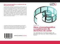 Buchcover von Obra cinematográfica y explotación de derechos de autor