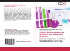 Validación de un Método Analítico por Absorción Atómica kitap kapağı