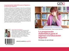 La preparación matemática para el ingreso a la Educación Superior的封面
