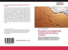 Bookcover of El camino a la distinción cartesiana de alma y cuerpo
