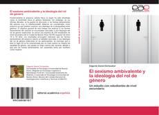 Bookcover of El sexismo ambivalente y la ideología del rol de género