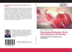 Portada del libro de Geometría Dinámica: De la Visualización a la Prueba