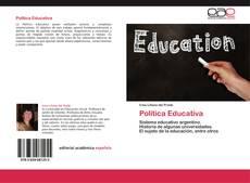 Bookcover of Política Educativa