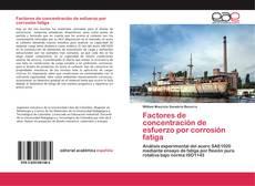 Portada del libro de Factores de concentración de esfuerzo por corrosión fatiga