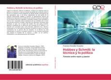 Copertina di Hobbes y Schmitt: la técnica y lo político