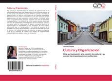 Bookcover of Cultura y Organización
