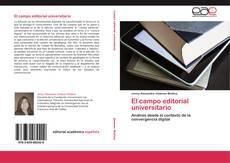 Copertina di El campo editorial universitario