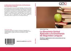 Copertina di La Sinonimia Verbal Aplicada a la Enseñanza de Segundas Lenguas