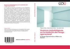 Bookcover of Avances metodológicos en la medición del riesgo operacional