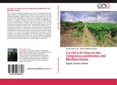 Portada del libro de La vid y el vino en las religiones politeístas del Mediterráneo