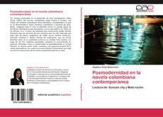 Portada del libro de Posmodernidad en la novela colombiana contemporánea