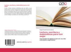 Portada del libro de Lectura, escritura y matemáticas para vivir mejor