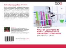 Portada del libro de Nm23 en Carcinoma de Mama. Correlación con marcadores tradicionales