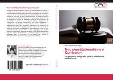 Neo constitucionalismo y Currículum的封面