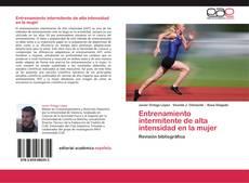 Entrenamiento intermitente de alta intensidad en la mujer kitap kapağı