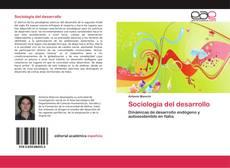 Capa do livro de Sociología del desarrollo