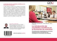 Capa do livro de La introducción de resultados científicos en la formación de maestros