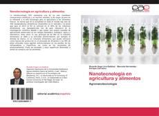 Nanotecnología en agricultura y alimentos kitap kapağı