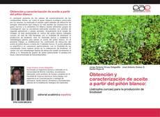 Bookcover of Obtención y caracterización de aceite a partir del piñón blanco:
