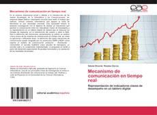 Buchcover von Mecanismo de comunicación en tiempo real