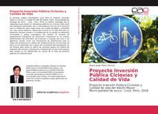 Обложка Proyecto Inversión Pública Ciclovías y Calidad de Vida