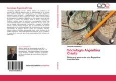 Capa do livro de Sociología Argentina Criolla