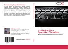 Portada del libro de Comunicación y Seguridad Ciudadana