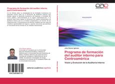 Portada del libro de Programa de formación del auditor interno para Centroamérica