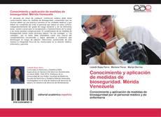 Portada del libro de Conocimiento y aplicación de medidas de bioseguridad. Mérida Venezuela