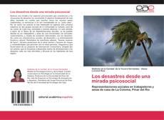 Portada del libro de Los desastres desde una mirada psicosocial