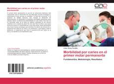 Capa do livro de Morbilidad por caries en el primer molar permanente