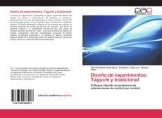 Portada del libro de Diseño de experimentos: Taguchi y tradicional