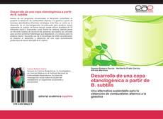 Bookcover of Desarrollo de una cepa etanologénica a partir de B. subtilis