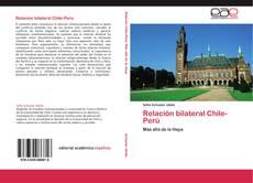 Buchcover von Relación bilateral Chile-Perú