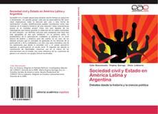 Portada del libro de Sociedad civil y Estado en América Latina y Argentina