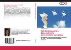 Bookcover of Estrategias para el desarrollo del pensamiento complejo