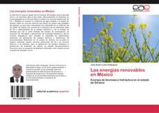Portada del libro de Las energías renovables en México