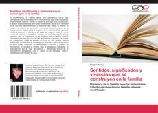 Bookcover of Sentidos, significados y vivencias que se construyen en la familia