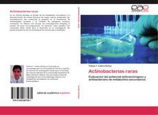 Copertina di Actinobacterias raras