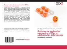 Portada del libro de Consumo de sustancias psicoactivas (SPA) en adolescentes colombianos