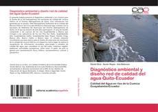 Capa do livro de Diagnóstico ambiental y diseño red de calidad del agua Quito-Ecuador