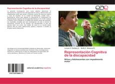Couverture de Representación Cognitiva de la discapacidad