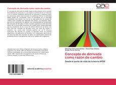Couverture de Concepto de derivada como razón de cambio
