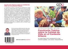Portada del libro de Constructo Teórico sobre la Calidad de Vida en el Contexto Urbano